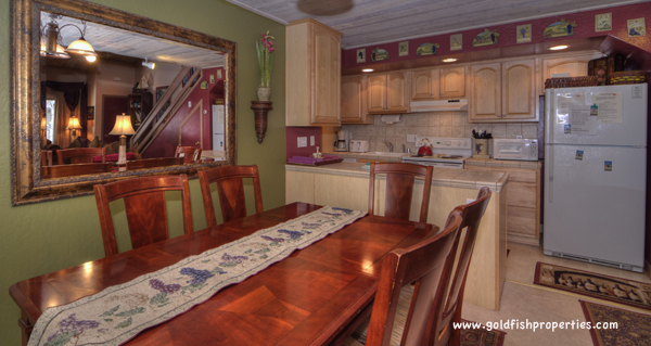 Dining Area / Kitchen - Entry Level